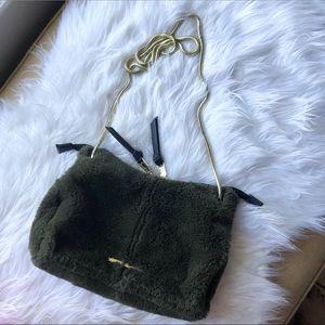 New women's green Steve Madden crossbody purse